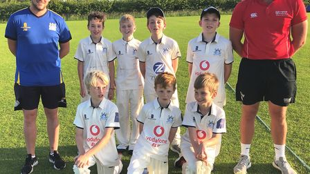 The Wilburton Colts are part of a youth programme held by the cricket club to encourage boys and gir