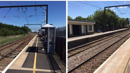 Littleport (right) and Waterbeach rail stations will get upgrades in a £27m contract due to get unde