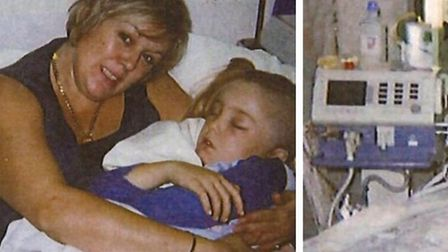 Aftermath of Littleport fatality: Douglas Shotter recovering in hospital after the crash with Sophie