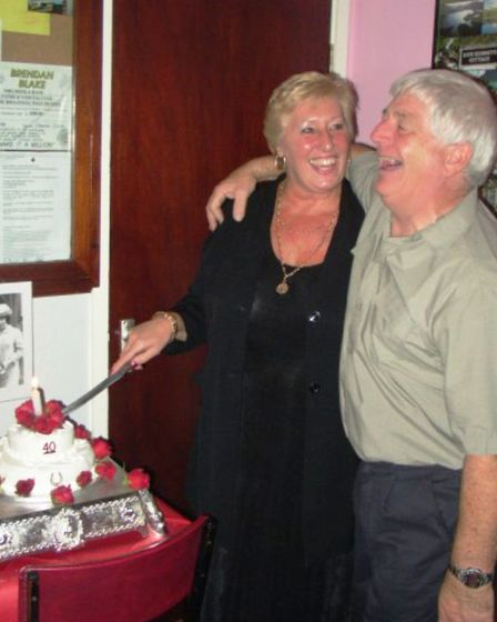 """""""My grandma and granddad on their 40th wedding anniversary. They were always so in love,"""" says Sophi"""