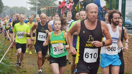Littleport's annual 10k event held at Littleport Leisure last Sunday morning may have been rainy - b