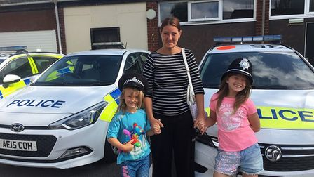 Ely police sergeant Mark Rabel invited a local family for a tour of the police station after discove