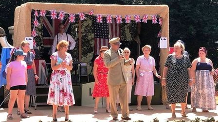 Live entertainment is just one offering at the annual 1940's event held at Prickwillow Engine Museum