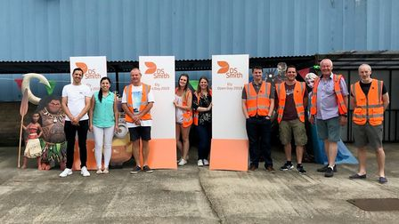Family open day at Ely factory DS Smith raised £1,350 for brain injury centre Fen House. Picture: Ca