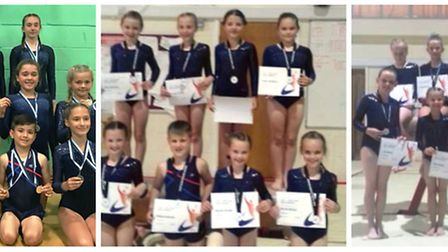 Littleport Gymnastics Club impressed at their recent meetings in Baldock and Ipswich this month, com