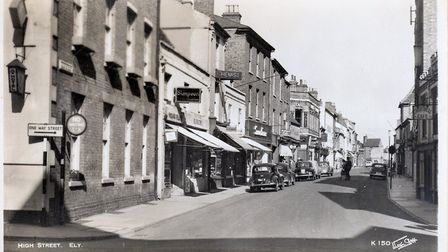 Take a look at Ely shops from the past at museum exhibition this weekend. Picture: MIKE ROUSE (colle