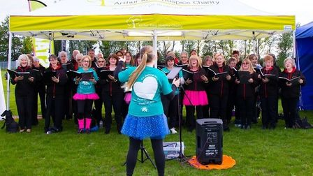 Sing! Choirs, based in Ely, is on the lookout for new talent. So far this year, they have raised £26