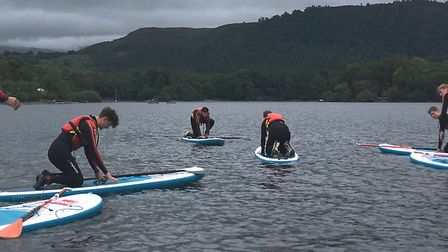 Students from King's Ely School took part in a 10-day expedition across the Lake District as part of