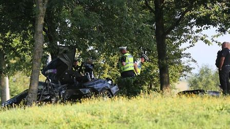 The victims of Monday's crash on the Frank Perkins Parkway in Peterborough have been named. Picture: