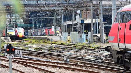 Upgrades will be taking place along the East Coast route, including at London King's Cross. Picture: