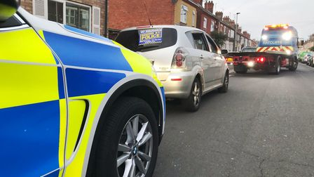 A 16-year-old was caught driving his mother's 'full car' in Peterborough – not for the first time. P
