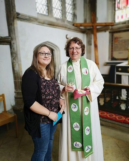 It was an emotional final service for Reverend Canon Fiona Brampton who was given a fond farewell af