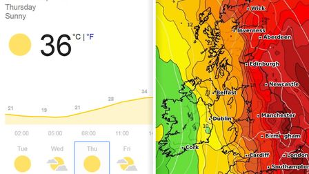 Cambridgeshire is to be hit by a three-day heat wave this week where you can expect weather hotter t