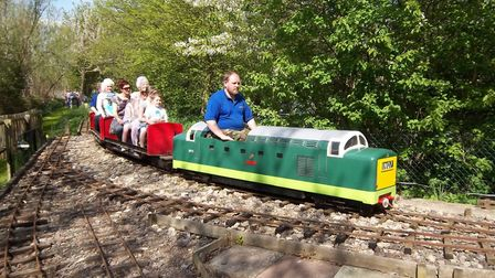 The Dunhams Wood Light Railway fundraiser in aid of Macmillan Cancer Support. Picture: Archant / FIL