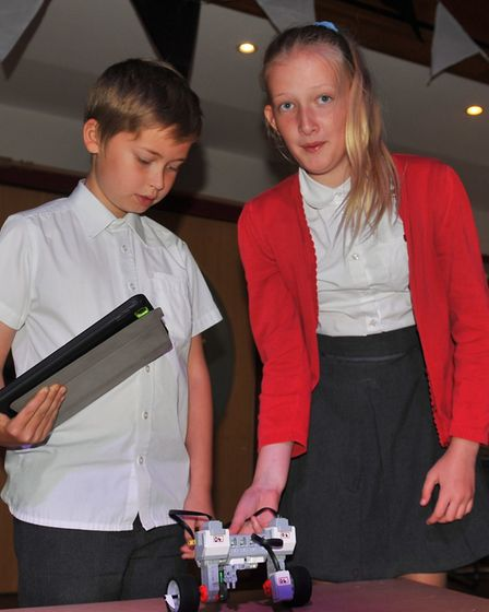 Pupils get technical at Robot Wars day as part of county-wide skills development project Bits and Bi