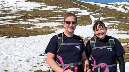 Jo and Paul Anderson-Wenn from March are set to trek the ancient Inca highway in Peru are on the way