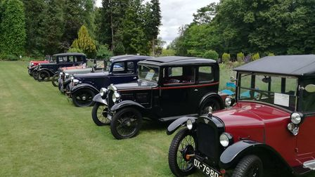 Classic cars were on display during the open day. Picture: CONTRIBUTED
