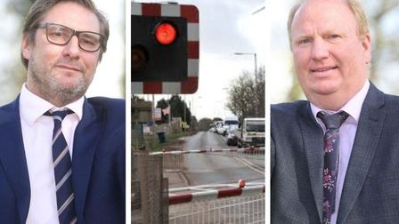Mayor James Palmer (left) has been very critical of Cambridgeshire County Council over delays to Kin