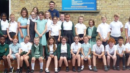 Year Five pupils from All Saints Primary School in March took part in numerous team-building exercis