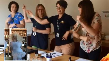 Highfield Ely Academy has released its annual leavers music video which features dancing teachers an