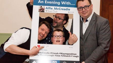 Alfie McCreadie at his sell-out charity magic show in Ely in 2018. Picture: FACEBOOK