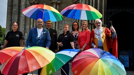 Ely's second Pride festival will take place on August 10 outside the Maltings, Ely. It is an all day