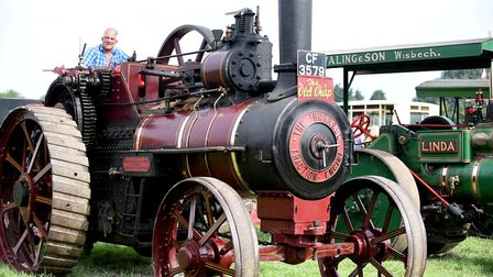 The annual March Steam and Vintage Show took place at the auction field on Knight's End Road over th