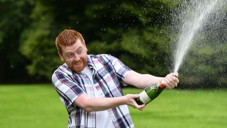 Dean Weymes, a 24 year old man from Peterborough is celebrating today after he scooped the top prize