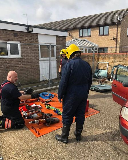 Cambridgeshire Fire and Rescue held a taster day at Littleport in a county wide bid to gain new recr