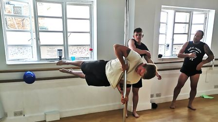 'The pole and aerial community is one of the most inclusive and supportive communities I have ever b