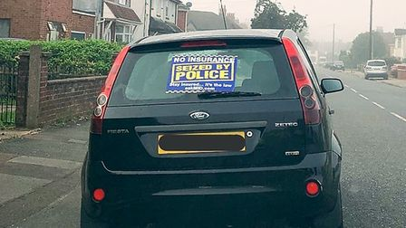 In just one weekend Cambridgeshire Police say they took 13 cars off the road – for a variety of offe