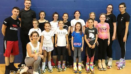 Cambridgeshire Artistic Roller Skating Club (CARSC) celebrated their second anniversary with a three