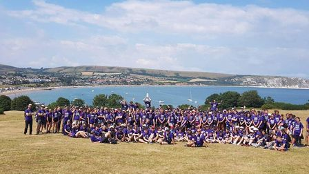 A total of 270 people took part in the gruelling three-day Dorset trek in aid of Cambs-based cancer