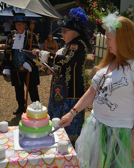 Pirate themed fun day to celebrate the 25th anniversary of Littleport charity Branching Out. Picture