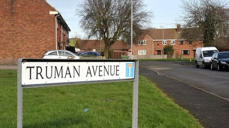 Truman Avenue, March. home to a man who downloaded 1,000 indecent images of children, some as young
