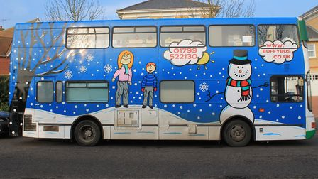 The Buffy Playbus provides a space for children to play. Picture: PC