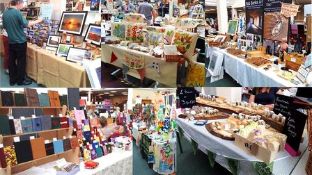 Three hundred people packed Ely Library on Saturday August 3 as it transformed into a market space f