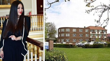 Chinese entrepreneur Grace Bian (left) whose company is acquiring the former Royal Papworth Hospital