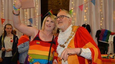 The Maltings: Ely Pride 2019 Predictions of heavy winds and gale like conditions didn't dampen the s