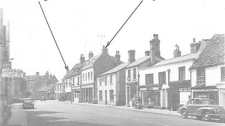 In August 1951 St Mary's Street in Ely witnessed a catastrophic aircraft crash, causing loss of life