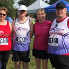 Fenland Running Club members took part at the first Twenty4 event in Peterborough between August 3-4