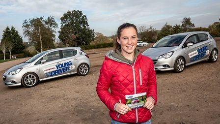 Youngsters can get behind the wheel at Newmarket Racecourse training events. Picture: YOUNG DRIVERS