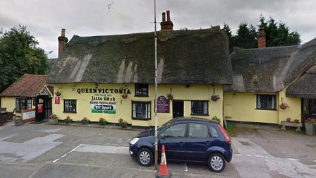 The Queen Victoria pub and Jalsa Ghar restaurant in Dunmow. Picture: GOOGLE