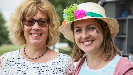 Quickling organisers Sue & Carrie, in Festival mood. Picture: CELIA BARTLETT PHOTOGRAPHY