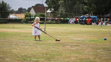 Anyone for croquet? Picture: CELIA BARTLETT PHOTOGRAPHY
