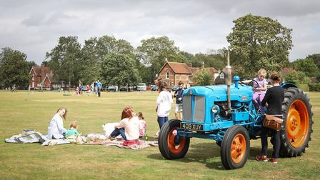 Fun on The Green at the Quickling Festival. Picture: CELIA BARTLETT PHOTOGRAPHY
