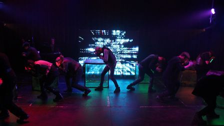 King's Ely students received rave reviews for their performance in 'Ugly Youth' at this summer's Edi