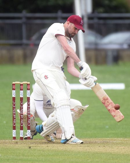 Ed Aniskowicz hit his sixth half-century of the summer as City of Ely saw off local rivals Wilburton