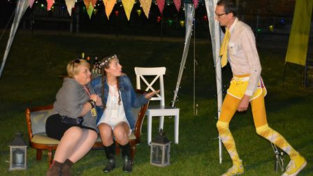 Ely Amateur Dramatic Society performing an alternative of Shakespeare's 'Twelfth Night' at Old Palac