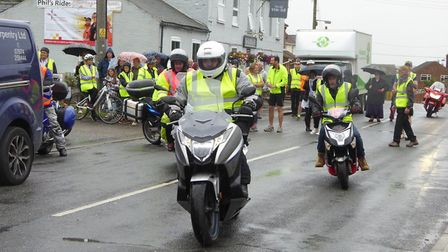 Annual charity motorcycle ride in memory of Ely biker Phil Beeton raised thousands for East Anglian